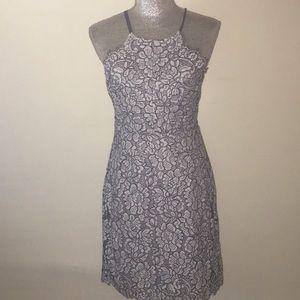Dress Forum, blue lace dress